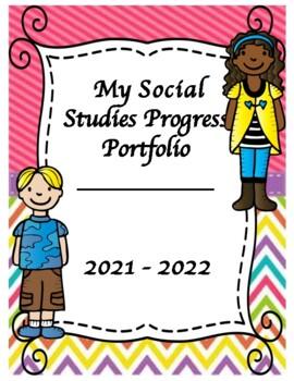 Interactive Student Progress Portfolio - Grade 5 Social Studies