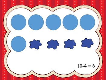 Interactive Subtraction Smash To 10