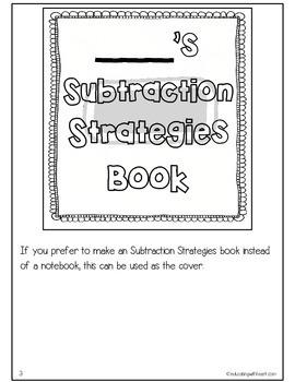 Interactive Subtraction Strategies Notebook