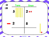 Interactive Subtraction with Regrouping Lesson