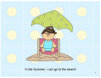 Interactive Summer Book (1) - PRE-K / AUTISM