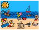 Interactive Summer Scene: Building Receptive and Expressive Language