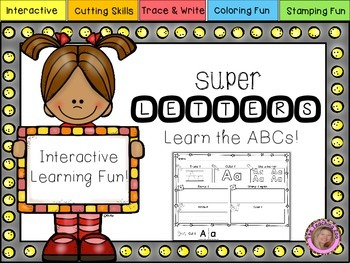 Interactive Super Alphabet {Letter Learning Fun!}