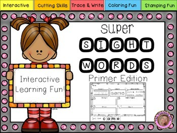 Interactive Super Sight Words {Primer}