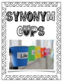 Interactive Synonym Cups - Vocabulary and Writing