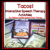 Interactive Taco Activities for Speech Therapy