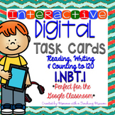 Interactive Task Cards 1.NBT.1 for Google Drive Classroom