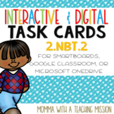 Interactive Task Cards 2.NBT.2 Skip Counting Google Drive