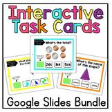 Interactive Math Task Cards on Google Slides™ Word Problem