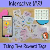 Interactive Telling Time Reward Tags