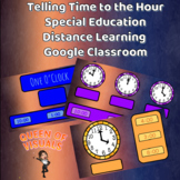 Interactive Telling Time Special Education Google Classroo