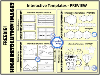 Interactive Templates for Notebooks - FREE - personal and commercial use