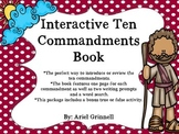 Interactive Ten Commandments Book