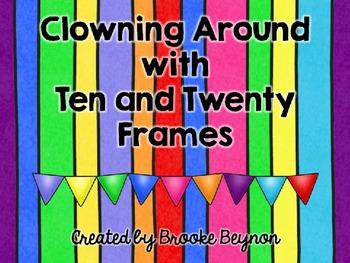 Interactive Ten and Twenty Frame Flash Cards