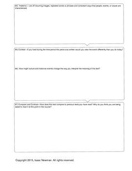 Interactive Text Organizer