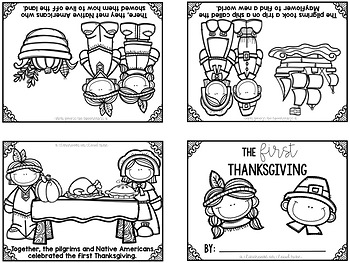 Interactive Thanksgiving Easy Reader {Differentiated Sight Word Readers}
