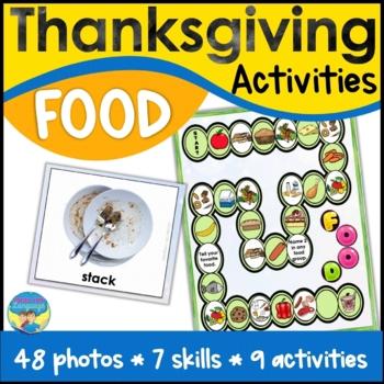 Thanksgiving Past & Present- Language Arts, Spec Ed, Speec