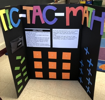 Interactive Tic Tac Math