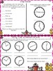 Interactive Time Booklet-Telling Time & Elapsed Time