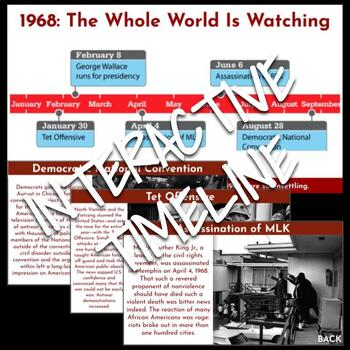 Interactive Timeline: 1968: The Whole World Is Watching