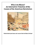 Interactive Timeline of the Causes of the American Revolution