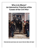 Interactive Timeline of the Causes of the Civil War