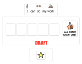 Interactive Token Board Google Classroom Distance Learning