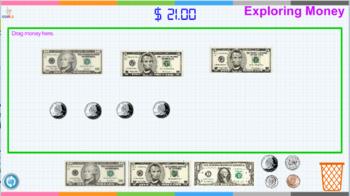 Interactive Touch Activity - Exploring Money