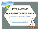 Interactive TRANSPORTATION Books and Thematic Concept Activities