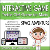 Interactive Treble Clef Game Pack - Space Adventure!  Oute