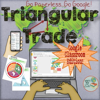 Triangular Trade Activities For Google Classroom and One Drive
