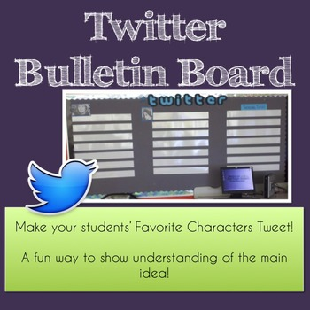 Interactive Twitter Bulletin Board and Lesson Plan