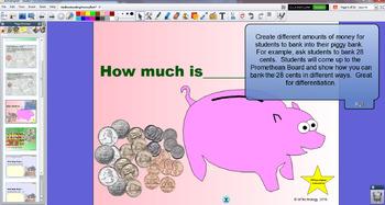 Interactive Understanding Money for the Promethean Board / ActivInspire with HW