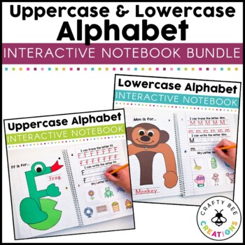 Interactive Alphabet Notebook Bundle