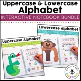 Interactive Alphabet Notebook Bundle {Uppercase & Lowercase}