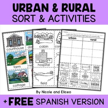 Interactive Activities - Rural and Urban Communities