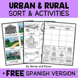 Rural and Urban Communities Sort Activities