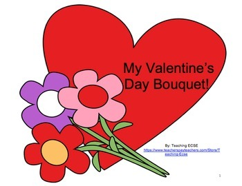 Interactive Valentine's Day Books (Bundle) - PRE-K / AUTISM