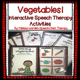 Interactive Vegetable Garden Activities for Speech Therapy