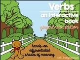 Interactive Verb Book-Gingerbread Edition