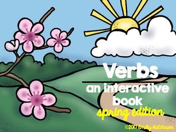 Interactive Verb Book-Spring Edition