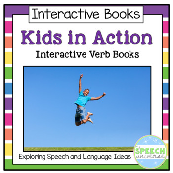 Verb Interactive Books: Kids in Action