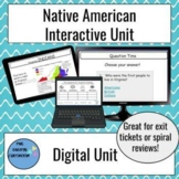 Interactive Virginia Studies Indians Unit on Google Slides