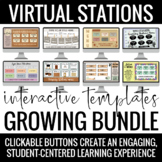 Interactive Virtual Learning Stations Template GROWING BUN