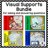 Visual Supports for Asking and Answering Questions Bundle