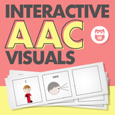 Interactive AAC Visuals for Commenting, Asking, and Answer
