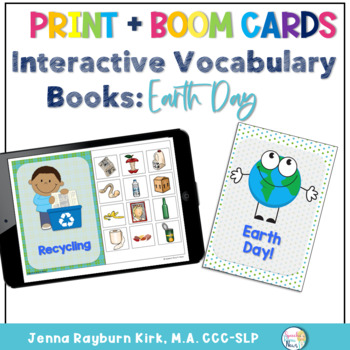 Interactive Vocab Book: Earth Day