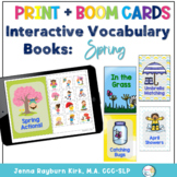 Interactive Vocab Books: Spring