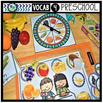 Interactive Vocabulary Activity For Preschool | Food To Eat