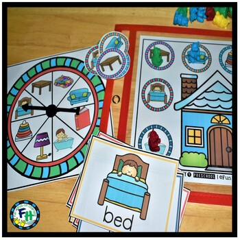 Interactive Vocabulary Activity For Preschool |  Things At Home